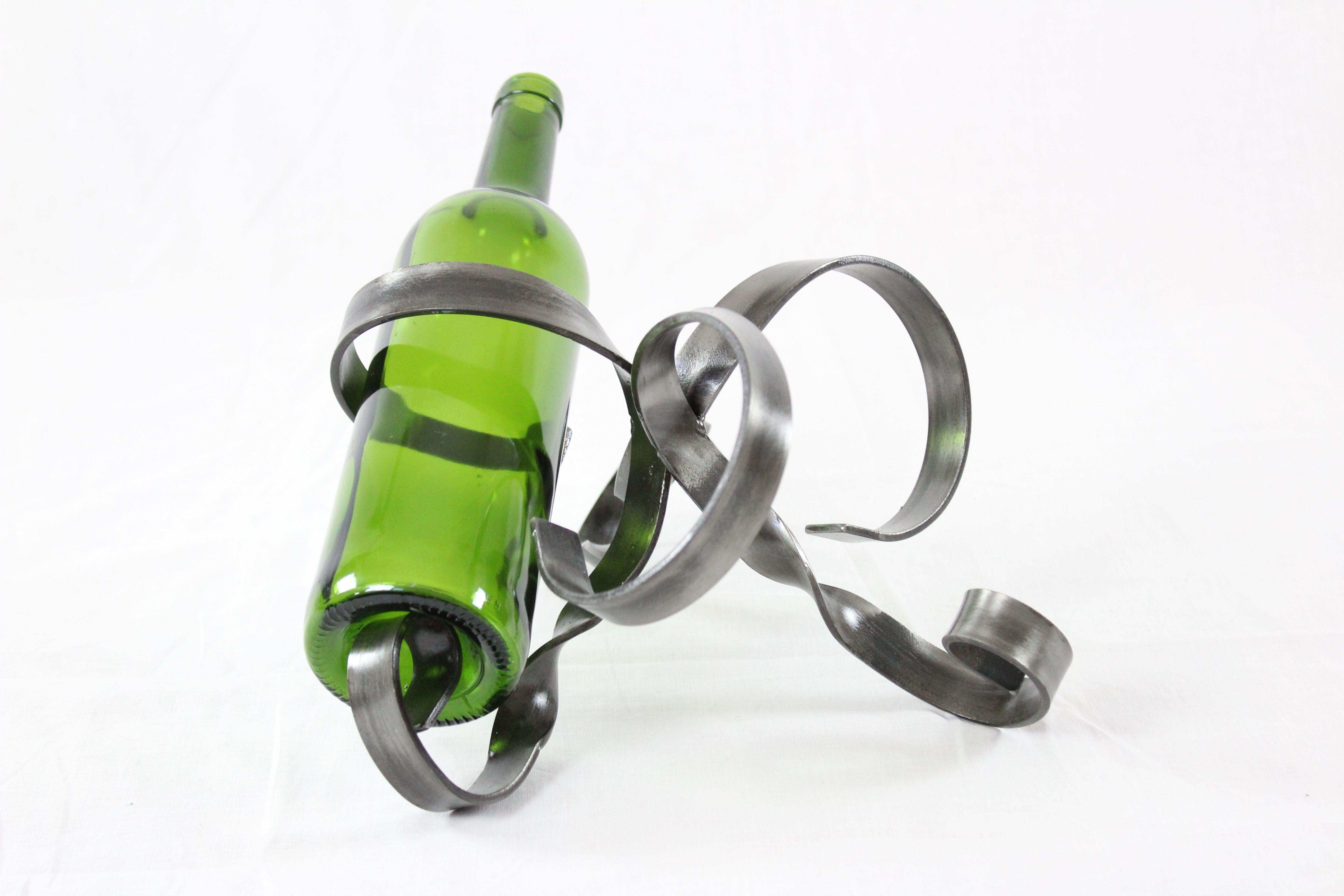Porte-bouteille Triple en métal