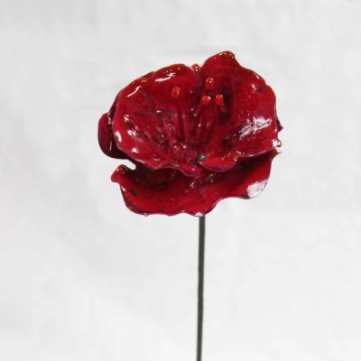 Coquelicot par Guy Fautsch Sculpture