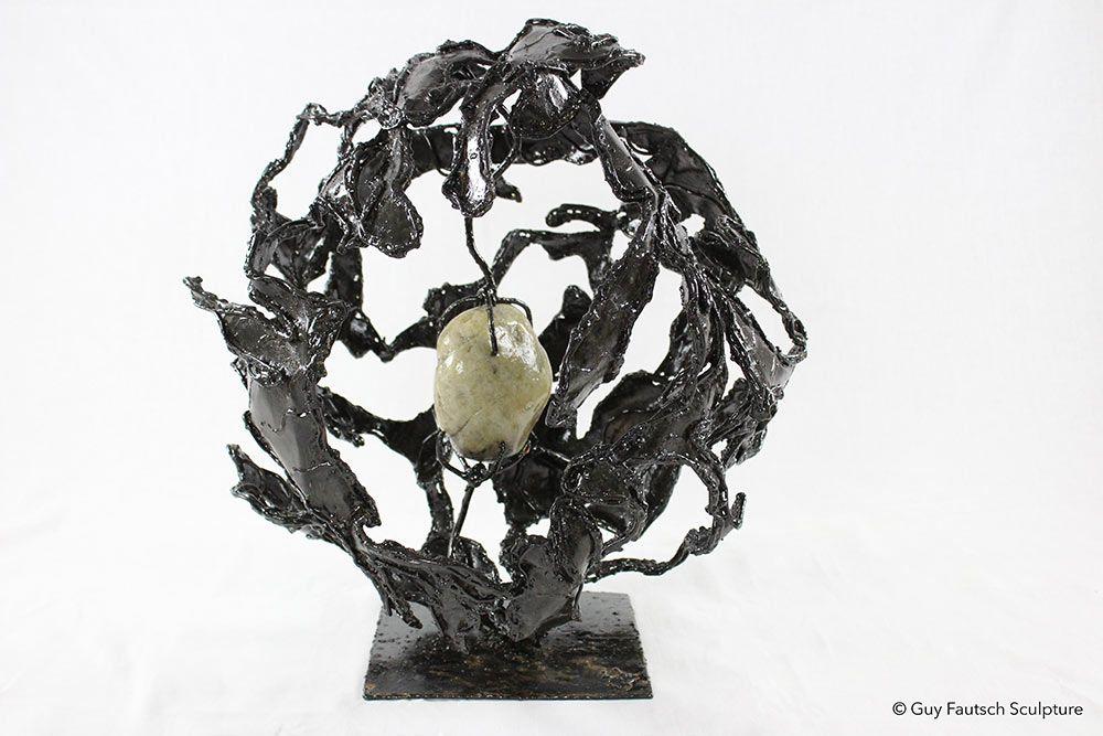 Planète 3001 - Sculpture métallique