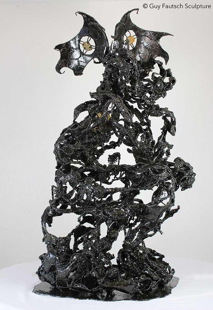 Sculpture en métal Raskolnikov